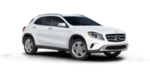 New Mercedes-Benz GLA-Class at Marion